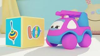 Машинки Бибизнайки - Ю+Я - Песенки - Учим буквы - Теремок песенки