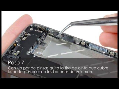 Tutorial Repara IPhone 4. Botones De Volumen