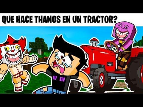 ANIMACIÓN: QUE HACE THANOS EN UN TRACTOR?!😄😆 - LOS MEJORES CHISTES 2 - CASIMOCHOTV