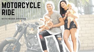 BABIES GET ON MOTORCYCLE WITH MARK DOHNER!