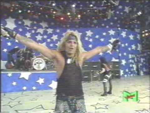 Motley Crue Jailhouse Rock Moscow Live 1989