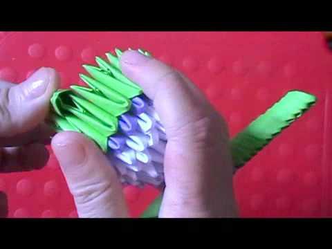 3d origami time lapse domo doovi