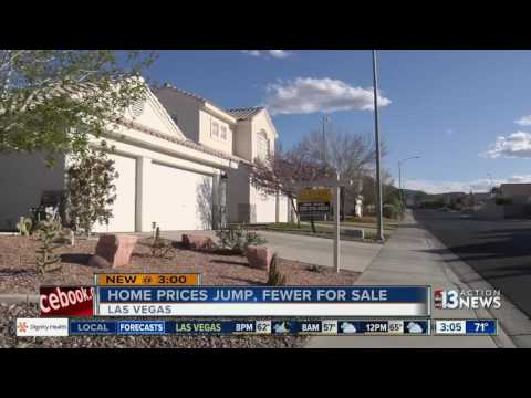 Las Vegas home prices jump in January