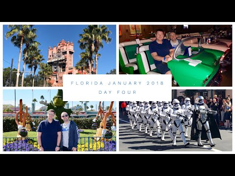 Walt Disney World & Florida Vlog - January 2018 - Day 4 - Hollywood Studios and Sci Fi Diner Lunch