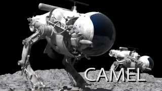 マシーネンクリーガーに登場する面用戦術偵察機LUM-168 キャメルの動画...
