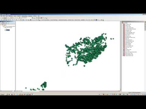 convert a text file to shapefile in arcmap 10 3