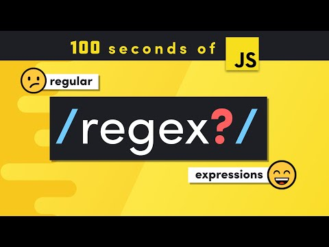 Regular Expressions (RegEx) in 100 Seconds