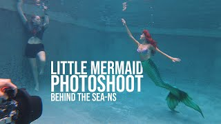 Little Mermaid Photoshoot (Behind the Sea-ns)