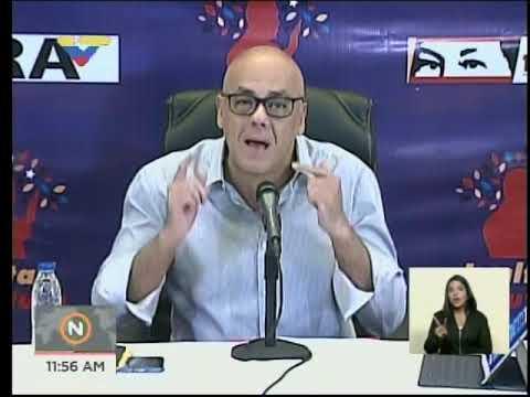 Resultado de imagen para jorge rodríguez jefe comando de campaña CONMEMORACIÓN 11, 12 Y 13-A