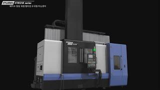 두산공작기계 수직형 터닝센터 PUMA VTR1216 시리즈
