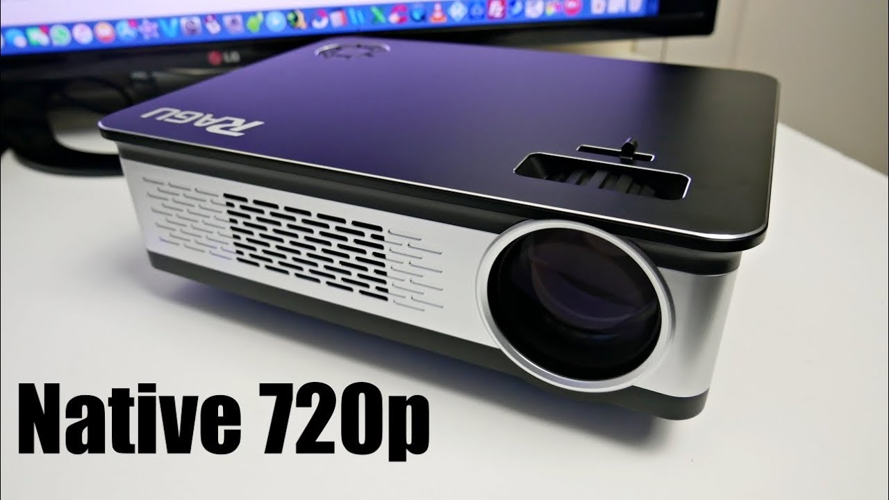 Ragu Z720 Hd Led Video Projector Native 720 145 Screen