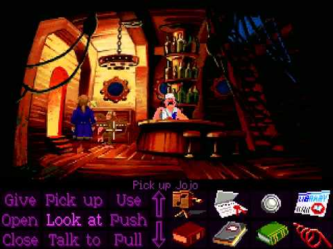 Monkey Island 2: LeChucku0027s Revenge (Ultimate Talkie Ed)- No Commentary Play Through