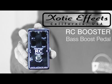 Xotic RC Booster bass pedal | Recensione effetto per chitarra