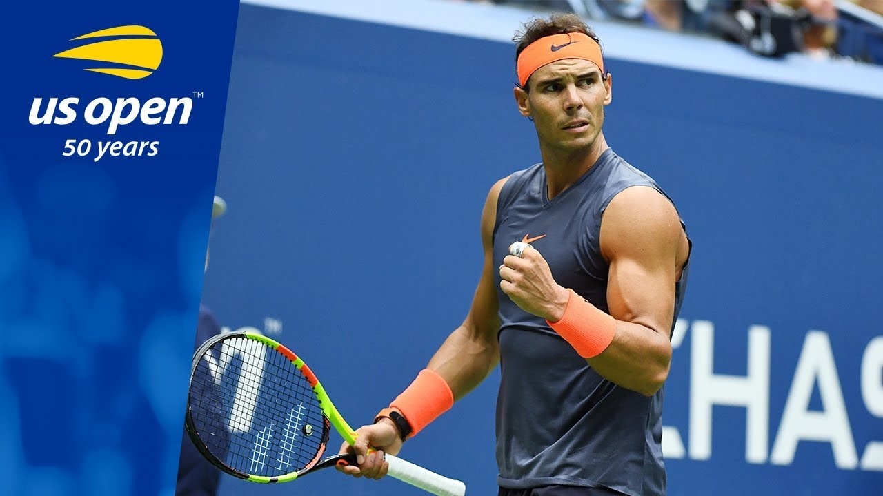 2018 Us Open Top 5 Plays Rafael Nadal Youtube