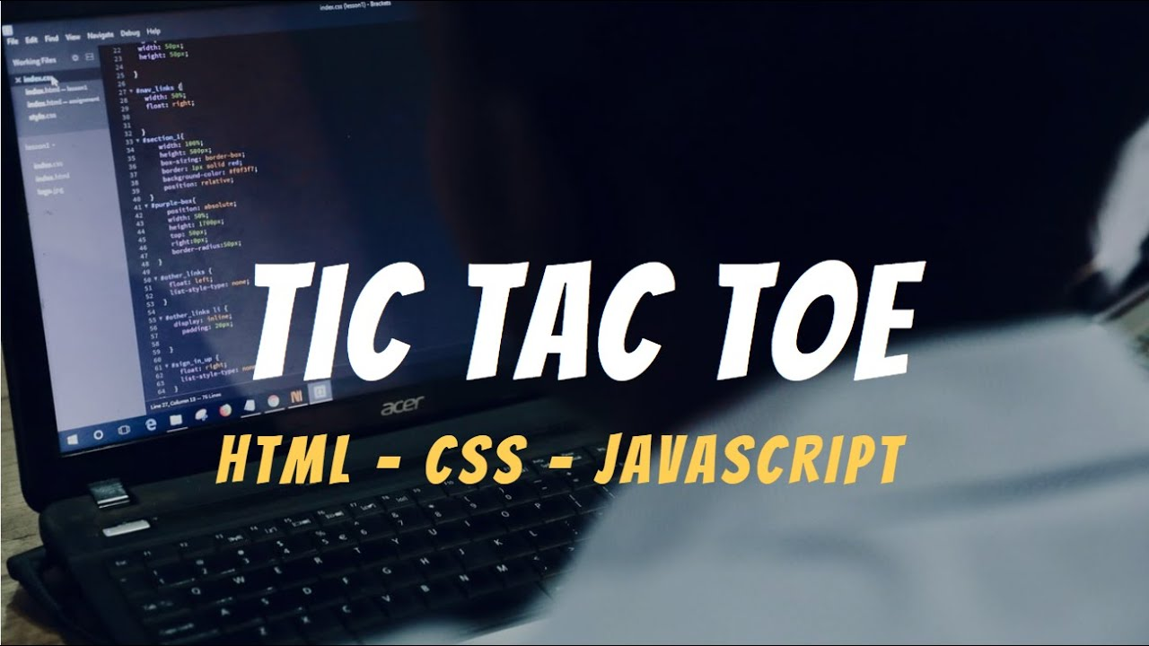 How to Program a Tic Tac Toe Game in Javascript