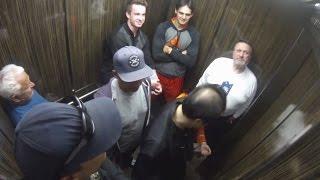 Elevator Fart Prank