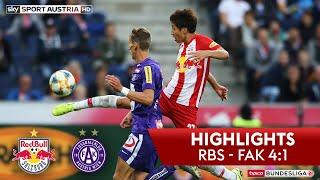 Highlights: tipico Bundesliga, 9. Runde: FC Red Bull Salzburg - FK Austria Wien 4:1