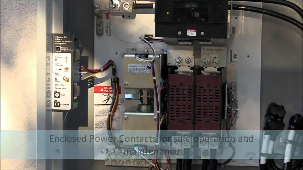 Ts910 Residential Light Commercial Automatic Transfer Switch Youtube Wiring Diagramautomatic