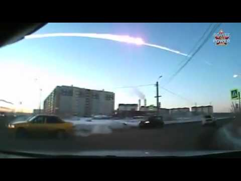 Falling meteorite is normally for Soviet people