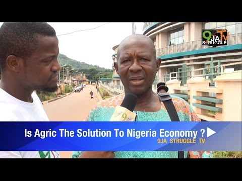 IS AGRICULTURE THE SOLUTION TO NIGERIA ECONOMY