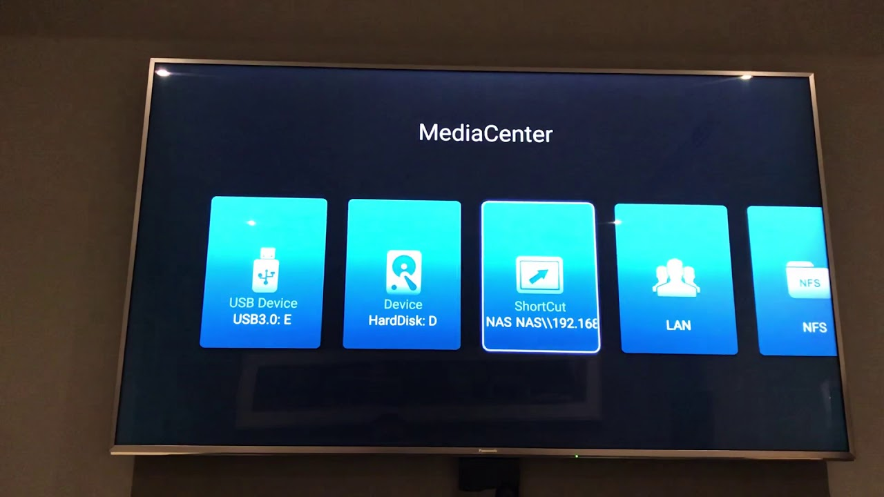HiMedia Q10 Pro can get Kodi to connect to NAS