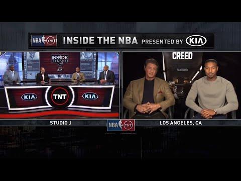 [Ep. 05/15-16] Inside The NBA (on TNT) Full Episode –Movie Creed Cast, Stallone & Michael B. Jordan