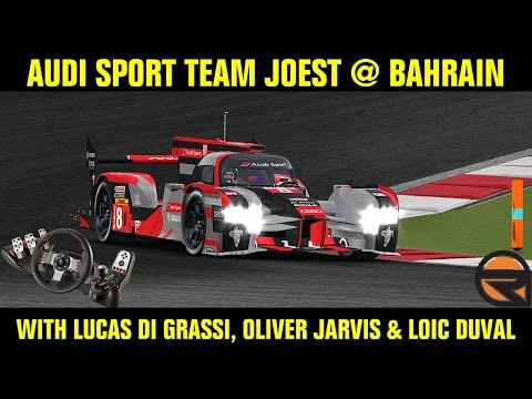 [rFactor] Audi Sport Team Joest @ Bahrain with Lucas Di Grassi, Oliver Jarvis & Loic Duval