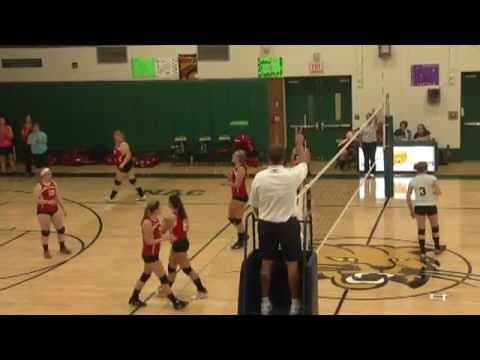 NAC - Saranac Volleyball  9-22-15
