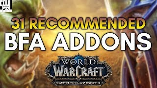 31 Recommended Addons for Battle for Azeroth I'll Personally be Using! World of Warcraft