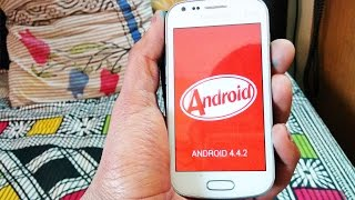 📱Install Android 4.4.2 kitkat on s duos 1 or 2 (GT-7562 Or GT-7582) (Full Tutorial)
