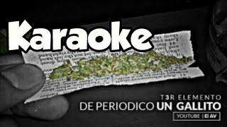 Karaoke De Periódico Un Gallito Jorge Aguilera / Pista