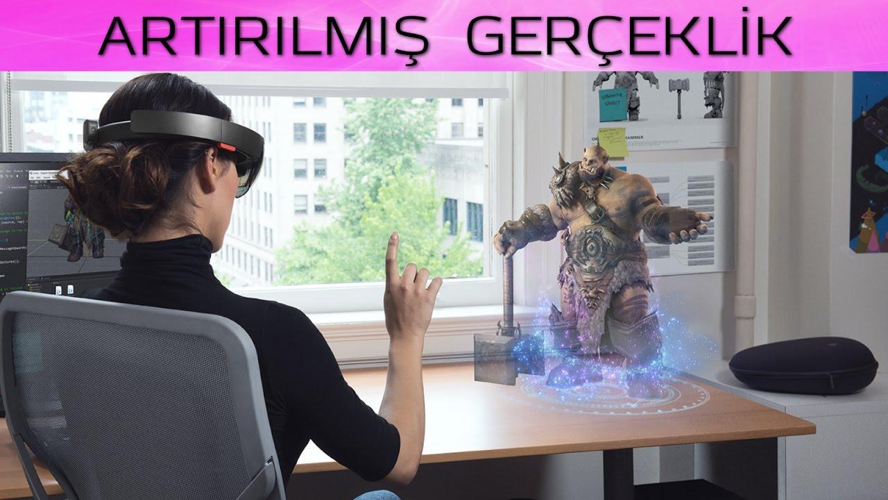 Artırılmış Gerçeklik (Augmented Reality) - YouTube