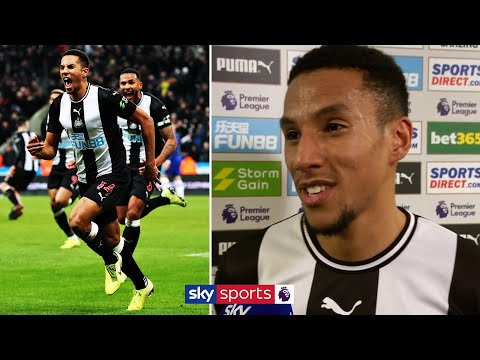 Isaac Hayden Reacts To His 94th Minute Winning Goal Against Chelsea! 🔥