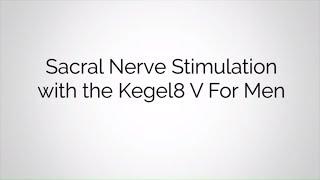 Sacral Nerve Stimulation for Men | Kegel8 V For Men Pelvic Toner | Kegel8