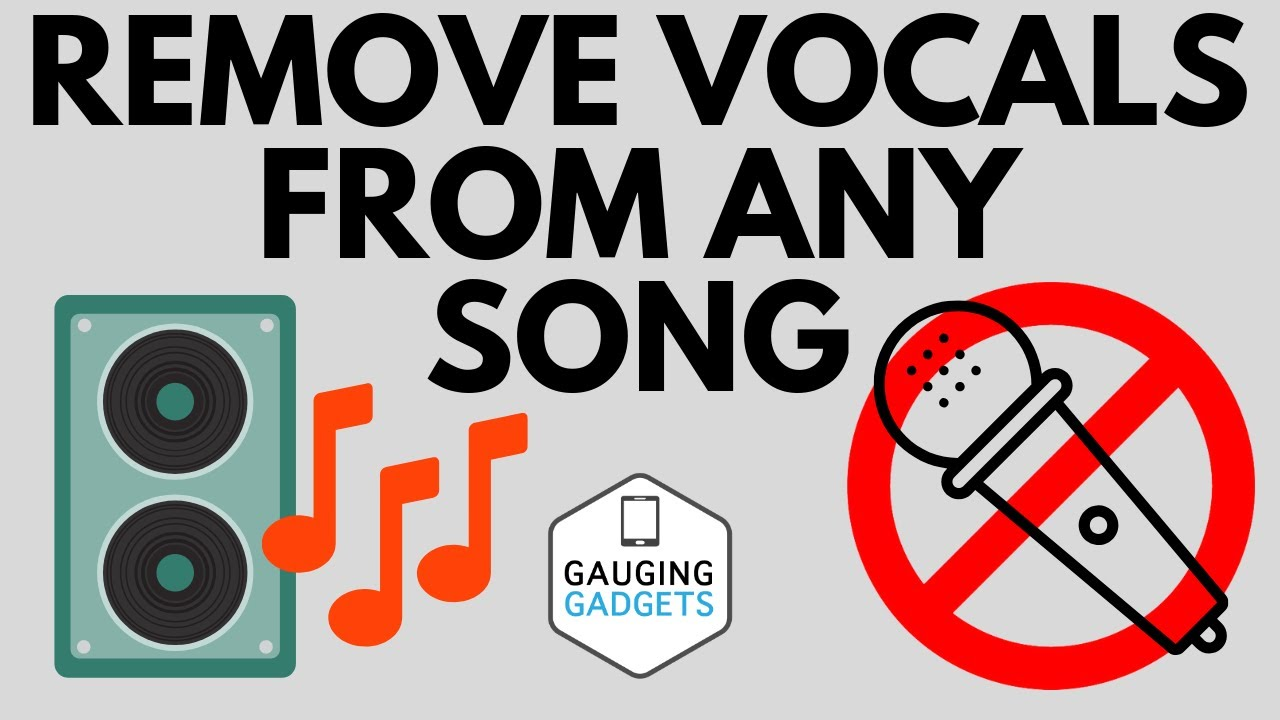 How To Remove Vocals From A Song For Free Pc Iphone Android Mac Youtube