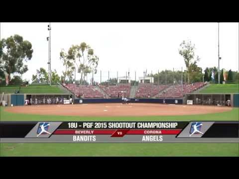 18U - PGF Softball Championships / Bill Barber Park - Irvine, CA
