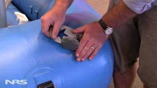 how to find and fix inflatable boat valve leaks
