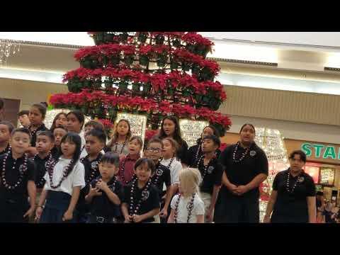 Maili Bible Schools perfomance at Kahala Mall