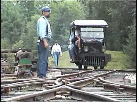 Nj Vehicle Inspection >> Ford Model T Railcar at the WW&F Railway Museum - YouTube