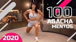 Desafio do Agachamento #02 - 100 agachamentos por dia - Carol Borba