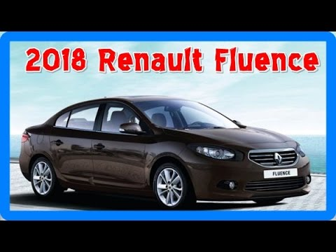 2018 renault fluence redesign interior and exterior youtube. Black Bedroom Furniture Sets. Home Design Ideas
