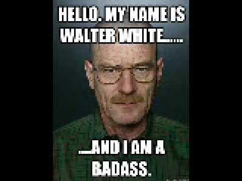 walter white tribute