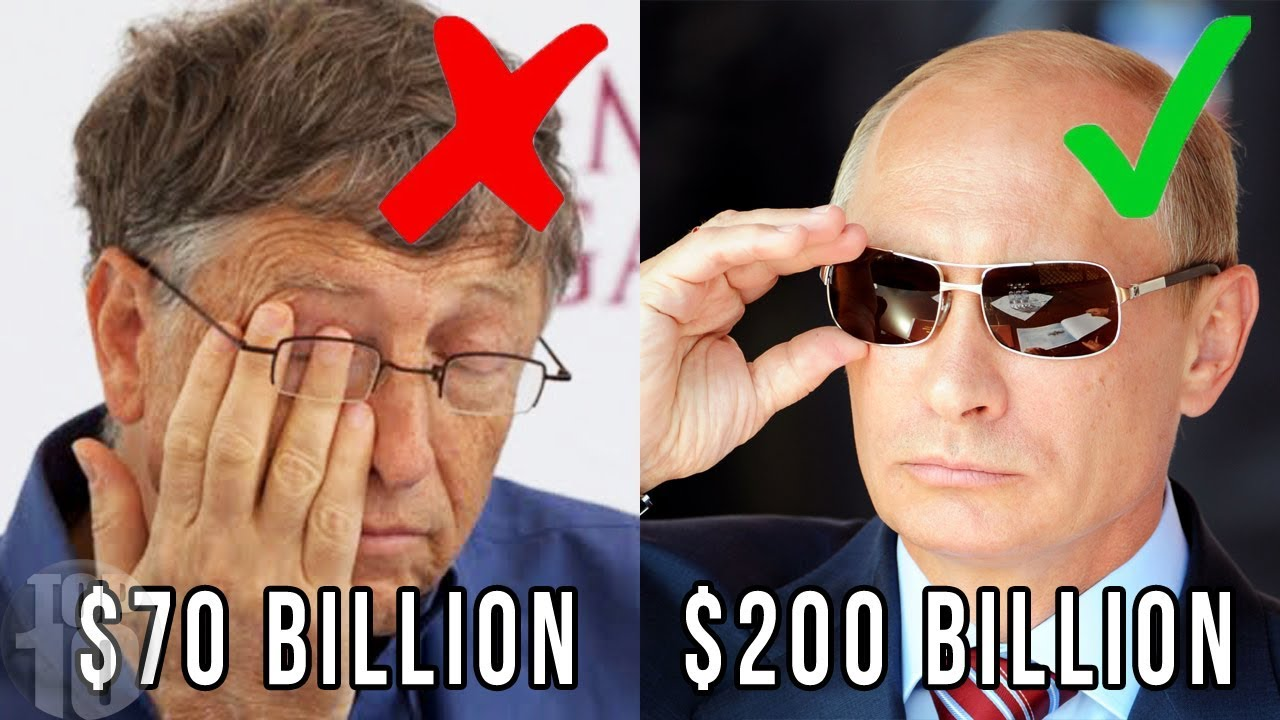 Download 10 PEOPLE WHO MAKE BILL GATES LOOK POOR