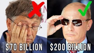 10 PEOPLE WHO MAKE BILL GATES LOOK POOR