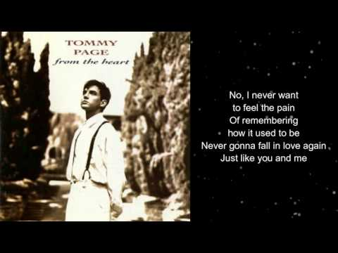 Tommy Page - Never Gonna Fall In Love Again