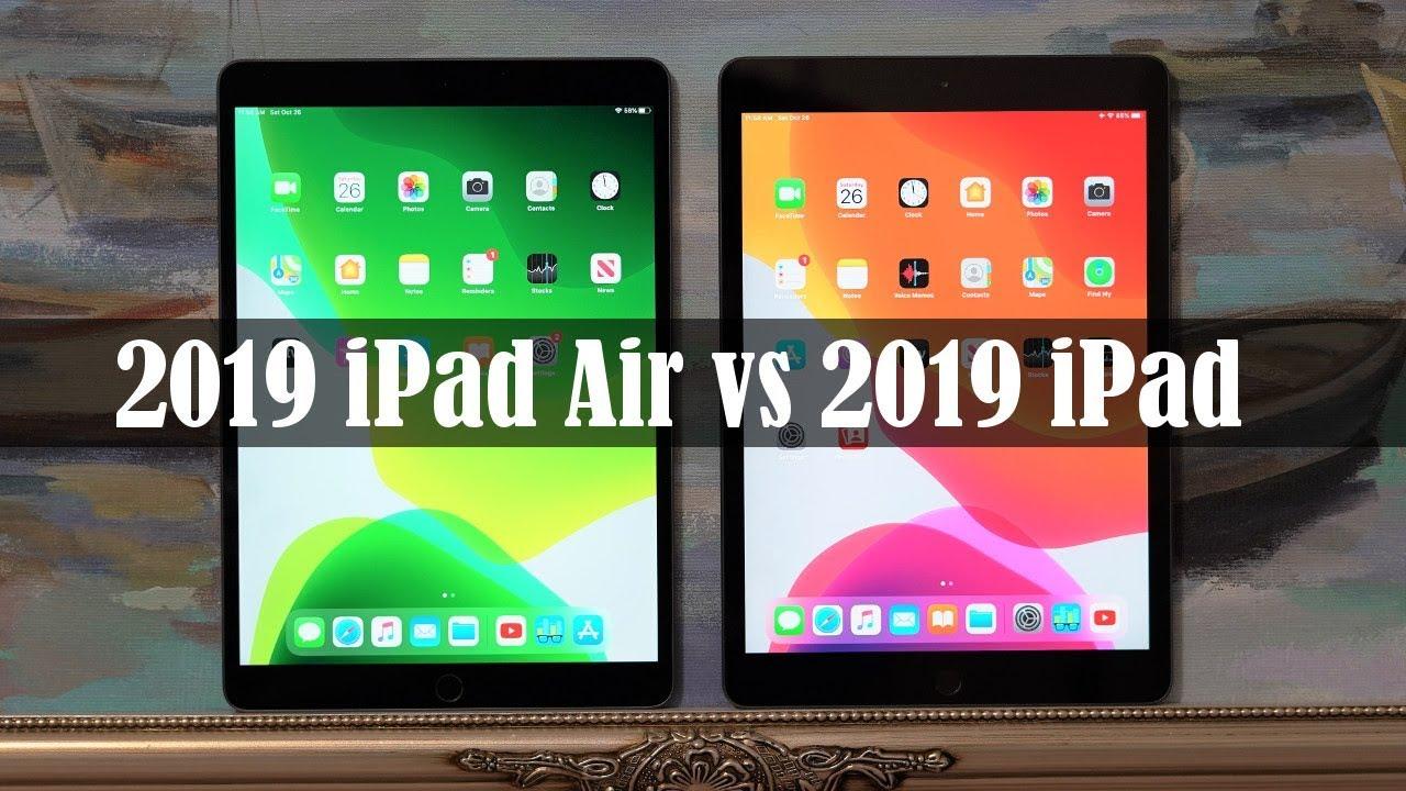 iPad Air 10.5 vs iPad 10.2 - Full ...