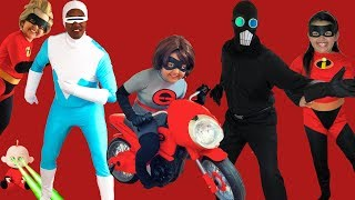 Disney Pixar INCREDIBLES 2 Halloween Costumes Toys and Elasticycle