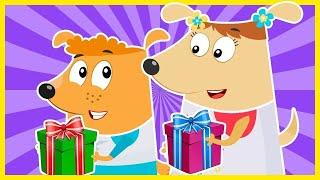 Щенки Бублик и Кисточка - Мультики для детей | Развивающие мультики | Русские мультики для малышей