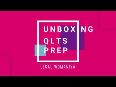 Legal Womaniya - My QLTS Journey: Unboxing QLTS Prep