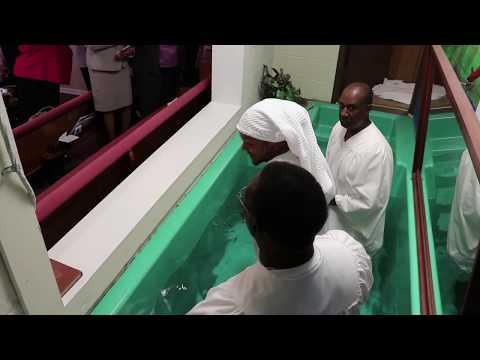 Baptism - Mt Pleasant Missionary Baptist Church
